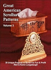 Great American Scrollsaw Patterns Vol. 3