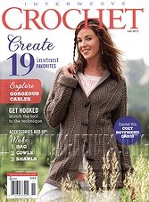 Interweave Crochet - Fall 2013