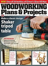 Woodworking Plans & Projects - July 2013