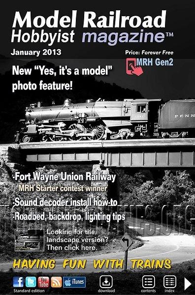 Model Railroad Hobbyst Magazine January 2013 187 Hobby