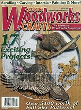 Creative Woodworks  & Crafts #076 - March 2001