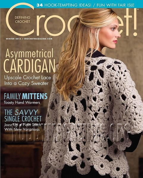 Free Crochet Magazine Subscriptions : Crochet! - Winter 2013 ? Hobby Magazines Download Free Digital ...