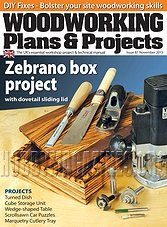 Woodworking Plans & Projects - November 2013