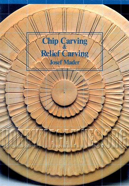 Chip carving and relief