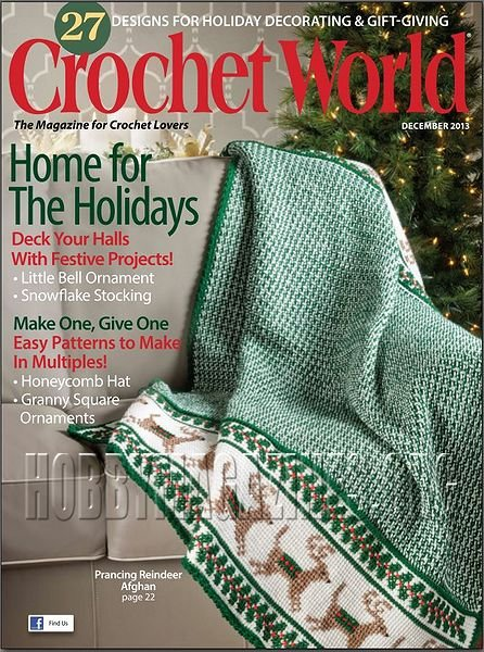 Crochet World - December 2013 ? Hobby Magazines Download Free ...