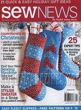 Sew News - December/January 2014