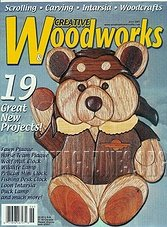 Creative Woodworks  & Crafts #078 - June 2001