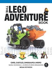 The LEGO Adventure Book, Vol. 1: Cars, Castles, Dinosaurs & More