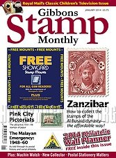 Gibbons Stamp Monthly - January 2014