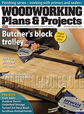 Woodworking Plans & Projects - January 2014