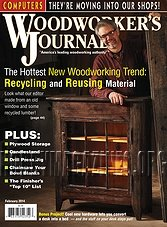 Woodworker's Journal - February 2014