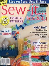 Sew-it...Today - February/March 2014