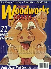 Creative Woodworks & Crafts #079 - August 2001