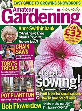 Amateur Gardening - 25th January 2014
