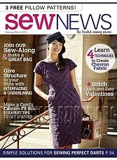 Sew News - February/March 2014