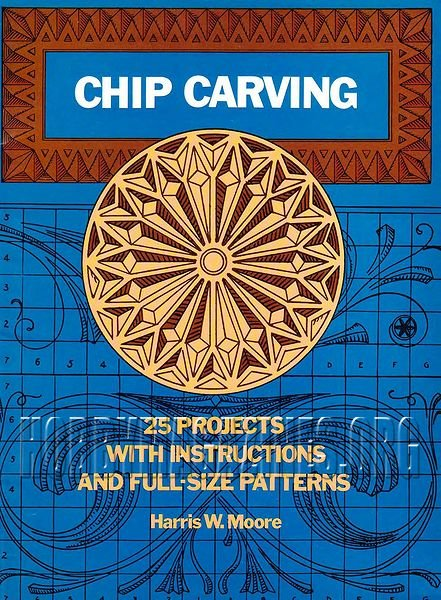 Chip carving projects with instructions and full size