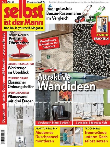 selbst ist der mann m rz 2014 hobby magazines free. Black Bedroom Furniture Sets. Home Design Ideas