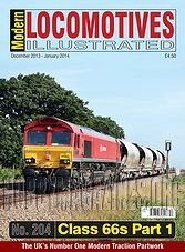 Modern Locomotives Illustrated - December 2013 / January 2014