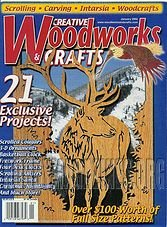 Creative Woodworks & Crafts #082 - January 2002