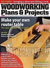 Woodworking Plans & Projects - May 2014