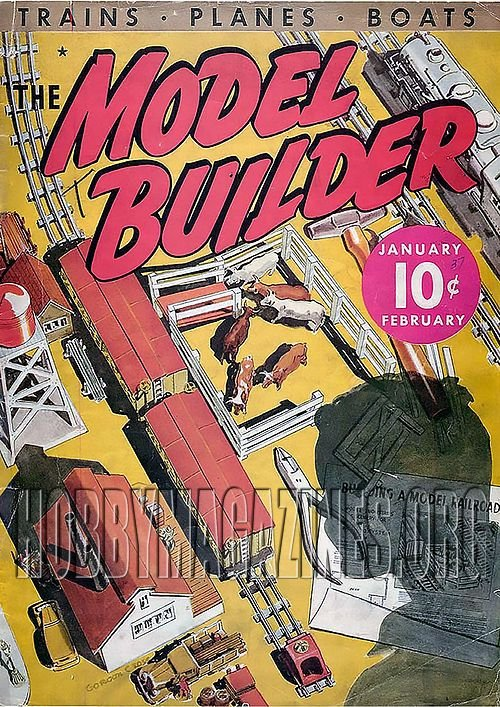 The Model Builder Vol.1 No 1. - January/February 1937