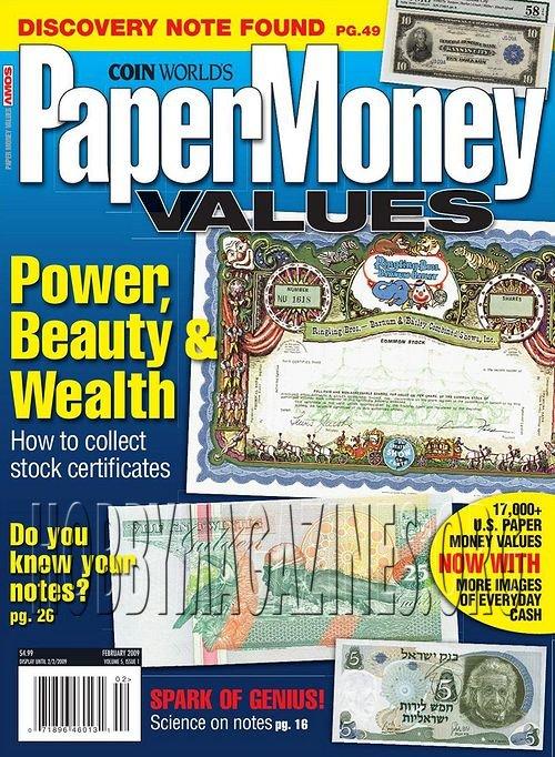 paper money value