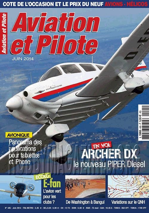 Aviation et Pilote 485 - Juin 2014