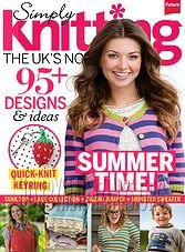 Simply Knitting - July 2014