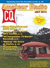 CQ Amateur Radio - July 2014