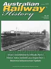 Australian Railway History - July 2014