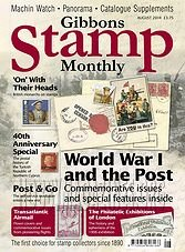 Gibbons Stamp Monthly - August 2014