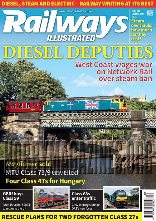 Railways Illustrated - October 2014