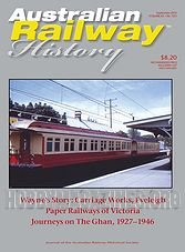 Australian Railway History - September 2014