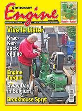 Stationary Engine - August 2013