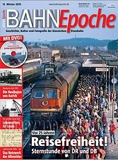 Bahn Epoche 13 - Winter 2015