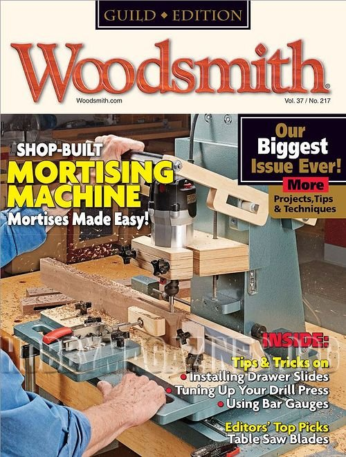 Woodsmith 217 - February/March 20115