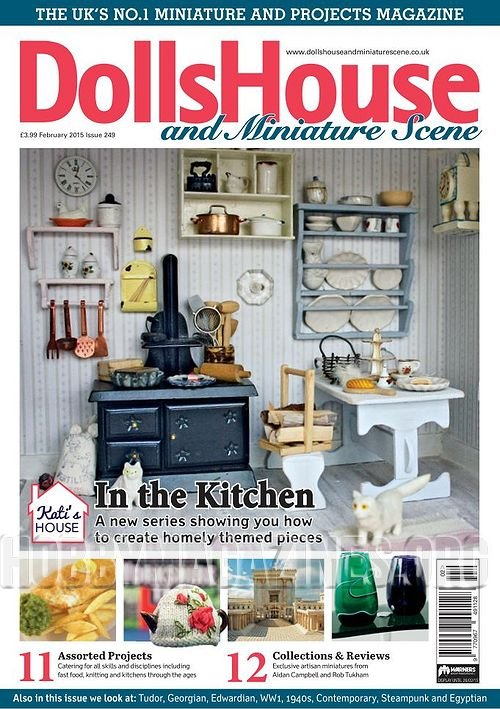 Dolls house and miniature scene february 2015 hobby for Free house magazines