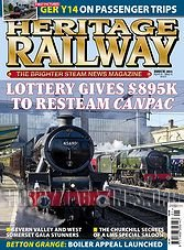 Heritage Railway 201 - April 9-May 6,2015