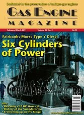 Gas Engine Magazine - February/March 2011