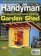 The Family Handyman - July/August 2015