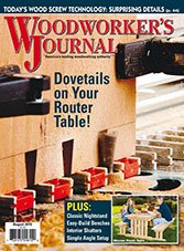 Woodworker's Journal - August 2015