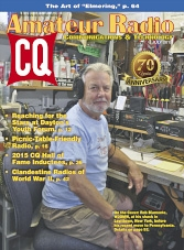 CQ Amateur Radio - July 2015