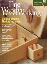 Fine Woodworking - July/August 2015