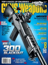 Guns & Weapons for Law Enforcement - August/September 2015