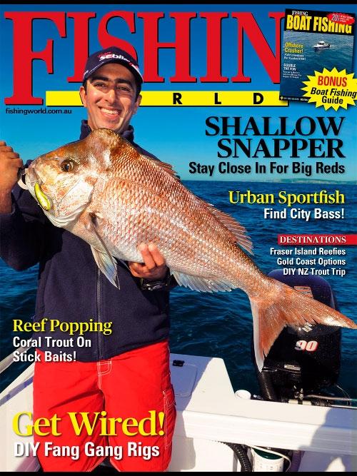 Fishing world april 2015 hobby magazines free for Free fishing magazines