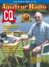 CQ Amateur Radio - August 2015