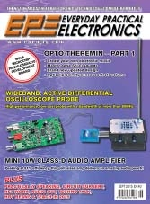 Everyday Practical Electronics - September 2015