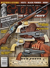 Guns Of The Old West - Summer 2015