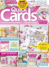Quick Cards Made Easy – March 2015
