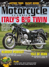 Motorcycle Classics - January/February 2015